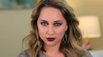 Maquillaje para Navidad: Mirada profunda