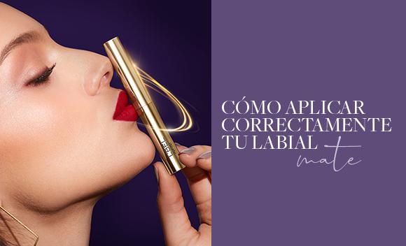 cómo aplicar correctamente tu labial mate