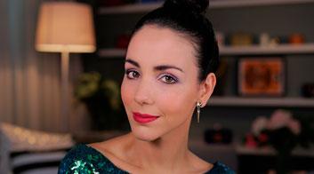 Maquillaje para San Valentín: Labios frambuesa intenso