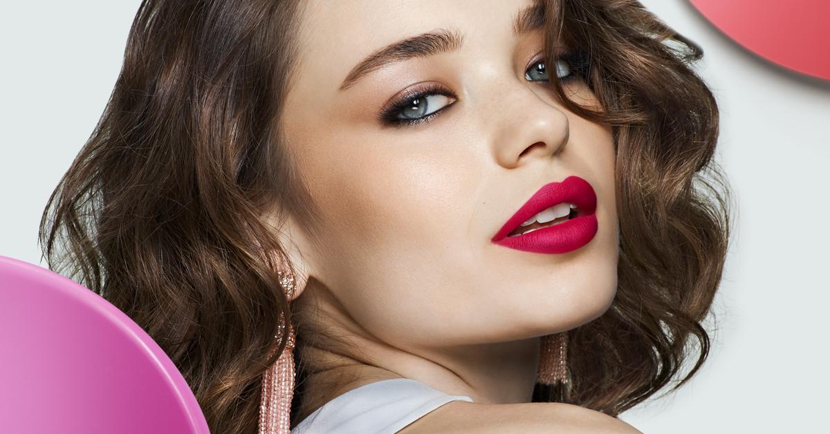 Labios a todo color con los tonos de Infini Absolu