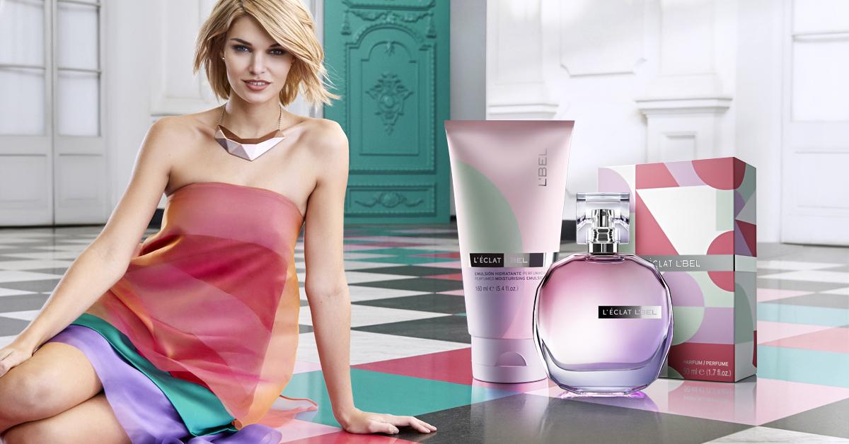 Llena tus días de color y energía con la nueva fragancia femenina de L´Bel