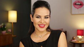 Tutorial de maquillaje de noche en colores intensos con Mytzi Cervantes