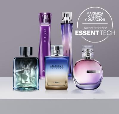 Descubre el nuevo proceso de las fragancias L'Bel: Essent Tech.
